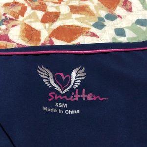 smitten Other - Smitten Navy Scrub Top